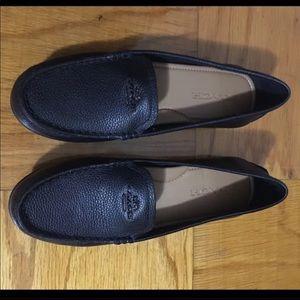Coach Leather Flats 8.5